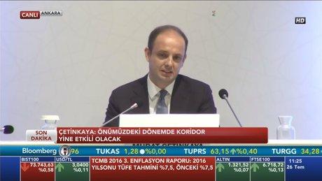 Merkez Bankası 'Enflasyon Raporu'nu açıkladı