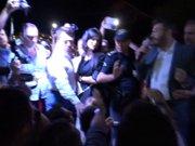 Aydın'da Demokrasi Nöbetinde Kürsu Krizi