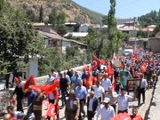 Şırnak'ta Jirki aşireti sokağa döküldü