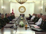 Yüksek Askeri Şura toplantısı, Başbakan Binali Yıldırım başkanlığında başladı
