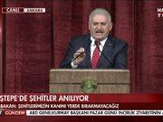 Başbakan Yıldırım Beştepe'de konuştu!