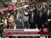 Başbakan Yıldırım, Kazan'da