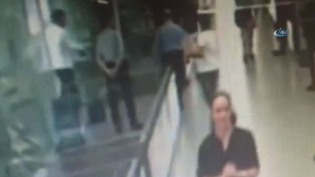 Şişli Belediyesi'ndeki silahlı saldırı kamerada