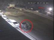 Çengelköy'de darbeci askerlerin kurşun yağdırması kamerada