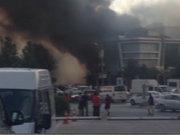 Ataşehir'de yangın! Gece kulübü ve sağlık merkezine sıçradı