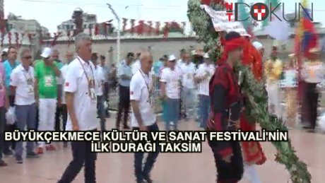 Büyükçekmece Kültür ve Sanat Festivali Taksim'de başladı