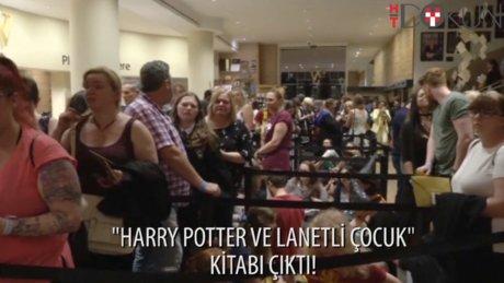 """Harry Potter and the Cursed Child"", dün İngiltere'de satışa çıktı."