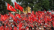 "Almanya'da ""Darbeye Karşı Demokrasi Mitingi"""