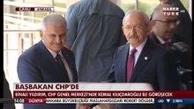 Başbakan Yıldırım'dan CHP'ye ziyaret
