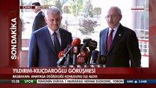 Başbakan Binali Yıldırım, CHP lideri Kemal Kılıçdaroğlu ile görüştü