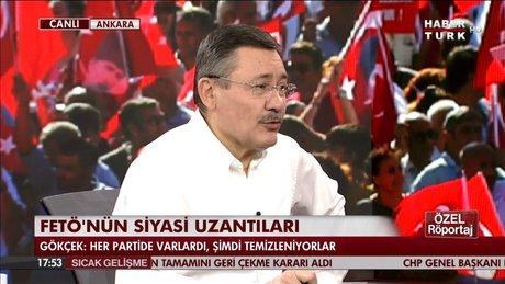 Melih Gökçek HABERTÜRK TV'de