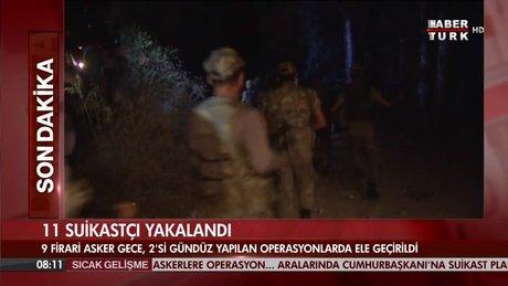 11 Suikastçi darbeci asker yakalandı