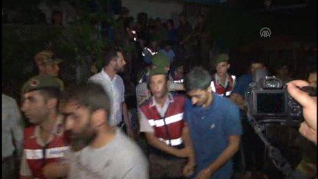 Kaçak darbeci askerler Muğla'ya sevk edildi