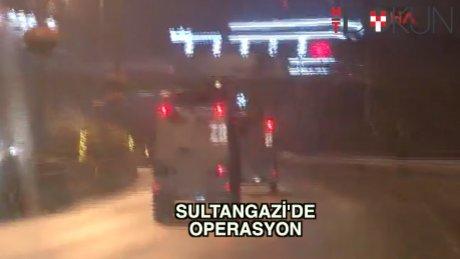 Gazi'de 'terör' operasyonu