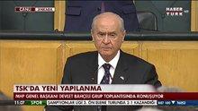 Devlet Bahçeli, partisini grup toplantısında konuştu