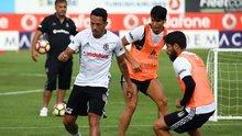 Adriano, Beşiktaş ile ilk antrenmanına çıktı