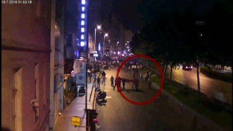 Şişli'de darbeci asker, vatandaşları böyle vurdu