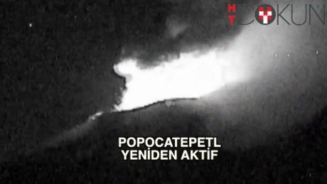 Meksika'da volkanın adı: Popocatepetl