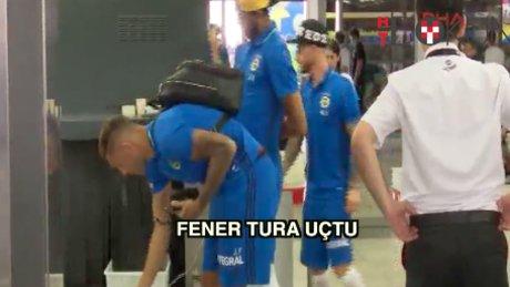 Fenerbahçe Monaco'ya gitti