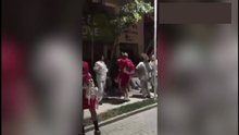 Potanın Perilerinden samba dansı