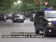 Erdoğan'dan Genelkurmay'a ziyaret