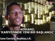 Adriano yabancı basına Beşkitaş'ı övdü