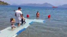 Muğla plajları, engelsiz oluyor