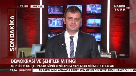MHP lideri Yenikapı davetine yanıt verdi