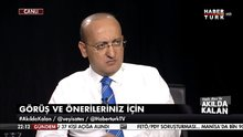 Yalçın Akdoğan Akılda Kalan programında Veyis Ateş'in sorularını yanıtladı