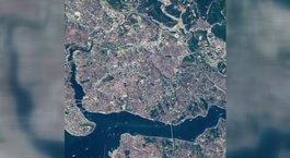 NASA, İstanbul'u uzaydan görüntüledi