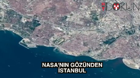 NASA'nın gözünden İstanbul