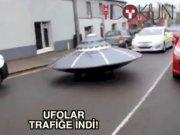 Polis trafikte UFO kovalarsa