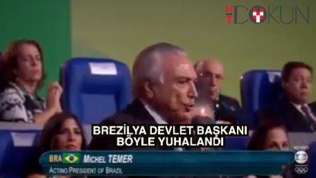 Devlet Başkanı Temer açılışta yuhalandı