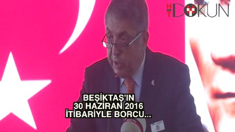 Beşiktaş'ın borcu 512 milyon TL