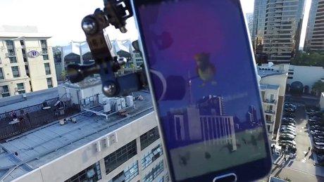 Pokemon yakalamak için drone kullandılar