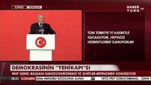 Devlet Bahçeli Yenikapı'da konuştu!