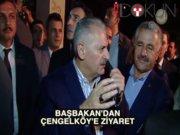 Başbakan Yıldırım'dan 'hedef' karakola ziyaret