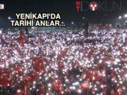 Yenikapı ışıl ışıl: Podyumda tarihi fotoğraf
