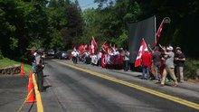 """Pensilvanya'da vatandaşlar """"Demokrasi ve Şehitler Mitingi""""i için toplandı"""