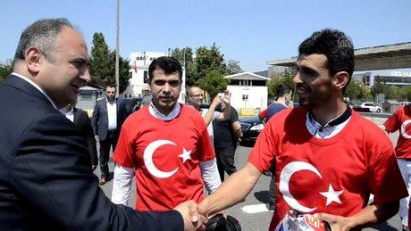 Kenan Sofuoğlu, İstanbul'da!