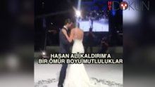 Hasan Ali Kaldırım dünyaevine girdi