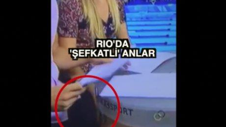 Rio'da canlı yayında taciz!