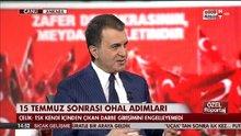 AB Bakanı Ömer Çelik HABERTÜRK TV'de