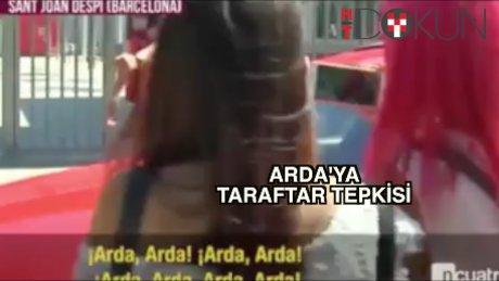 Arda'ya taraftardan büyük tepki