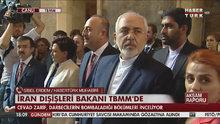 İran Dışişleri Bakanı TBMM'de