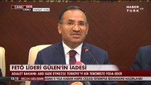 Bekir Bozdağ: ABD'li heyet 22 Ağustos'ta Türkiye'ye gelecek