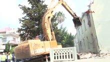 Antalya İlk askeri tesis Antalya'da yıkıldı