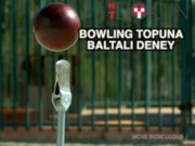 Bowling topuna '45 metrelik' baltalı deney
