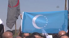 """Türkmenler, """"gasp edilen arazilerinin"""" geri verilmesini istiyor"""
