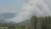 Orman yangını kontrol altına alınamıyor